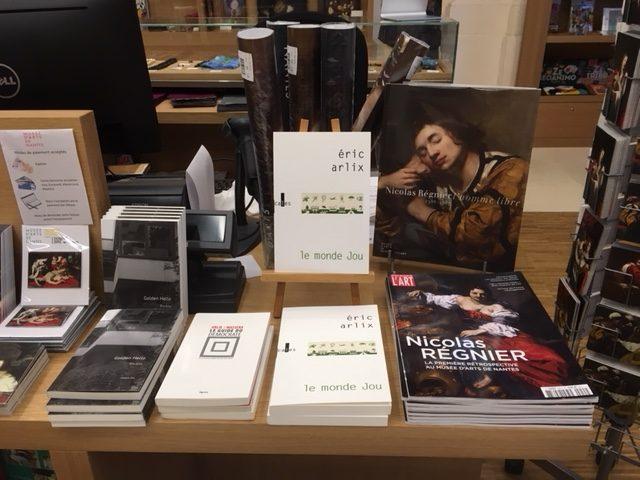 Eric Arlix et Nicolas Regnier a la librairie du Musee dArts de Nantes