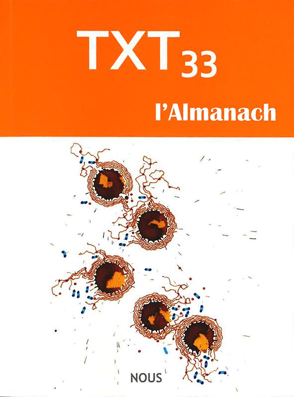 TXT n33-couverture