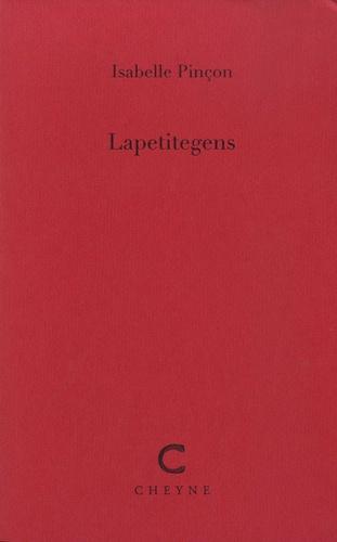 Lapetitegens - Isabelle Pinçon