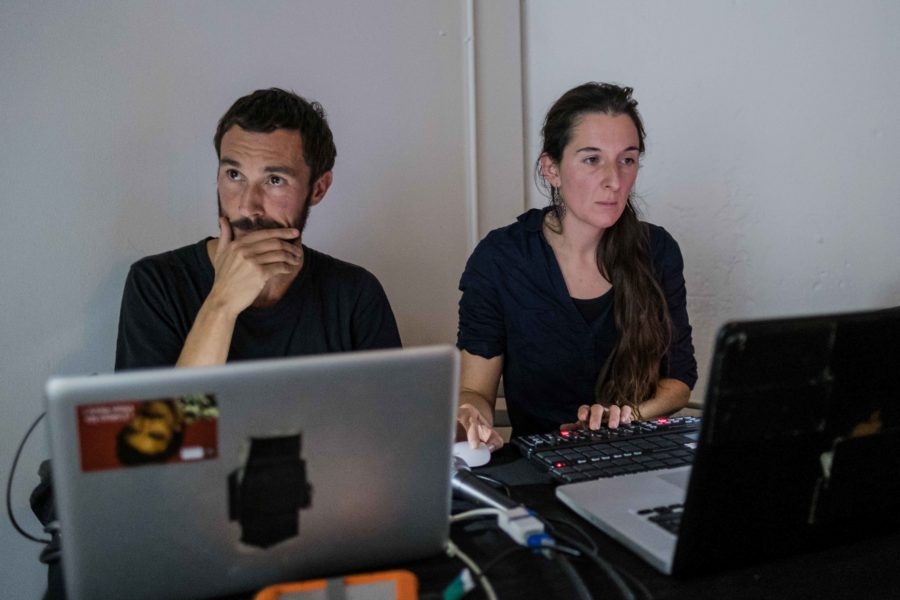 Vincent Pouplard & Aude Rabillon ©Guillaume Kerhervé